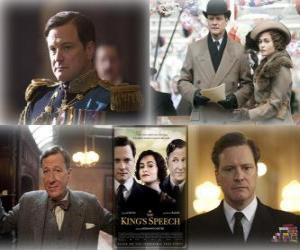 Oscar 2011 - Bester Film: The King's Speech puzzle