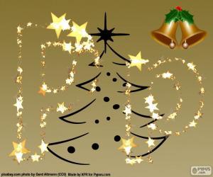 P ein Weihnachtsbrief puzzle