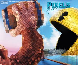 Pac-Man und Donkey Kong puzzle