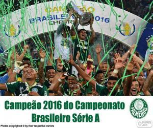 Palmeiras, 2016 Brasilien champion puzzle