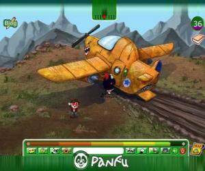 Panfu Flugzeugabsturz puzzle