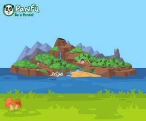 Panfu Insel puzzle
