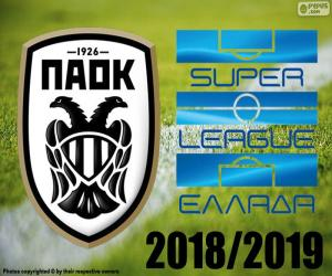 PAOK, Meister 2018-2019 puzzle