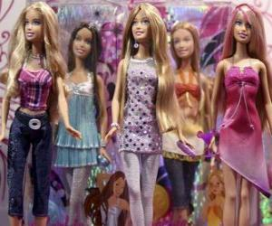 Parade der Barbies puzzle