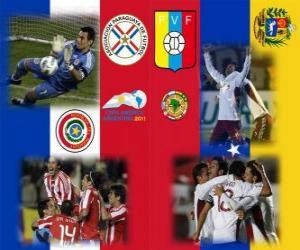 Paraguay - Venezuela, Halve Finale, Copa América Argentina 2011 puzzle