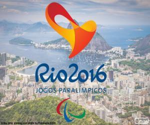 Paralympischen Spiele Rio 2016-logo puzzle