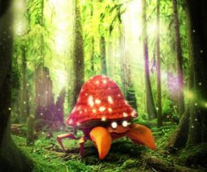 Parasect - Betriebswanzenart Pokémon puzzle