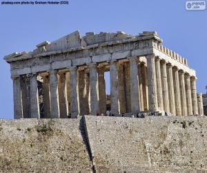 Parthenon, Griechenland puzzle