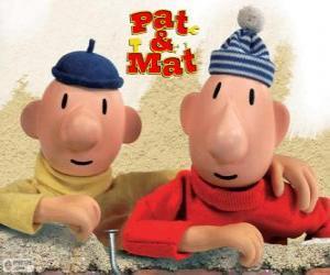 Pat und Mat, die lustigsten Heimwerker. Peter und Paul, ... und fertig! puzzle