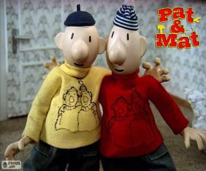 Pat und Mat, zwei Freunde puzzle