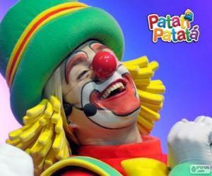 Patatá, einer der Clowns aus Patatí Patatá puzzle