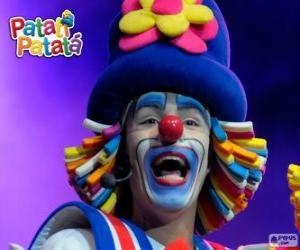 Patatí, einer der Clowns aus Patatí Patatá puzzle