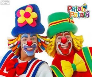 Patati Patatá Clowns puzzle
