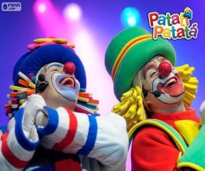 Patati und Patata in einer Aufführung puzzle