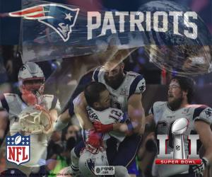 Patrioten, Super Bowl 2017 puzzle