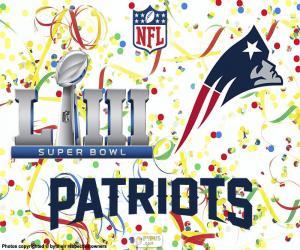 Patriots, Super Bowl 2019 puzzle