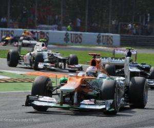 Paul di Resta, Force India 2012 puzzle