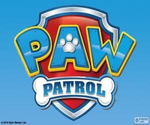 Paw Patrol logo puzzle