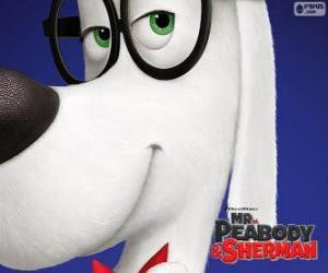 Peabody, der Hund, der Erfinder puzzle