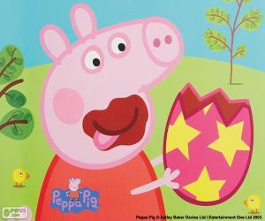 Peppa Wutz ein Ei Essen puzzle