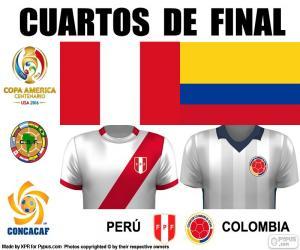 PER - COL, Copa America 2016 puzzle