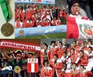 Peru, Copa America 2011 3. Platz puzzle