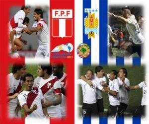 Peru - Uruguay, Halve Finale, Copa América Argentina 2011 puzzle