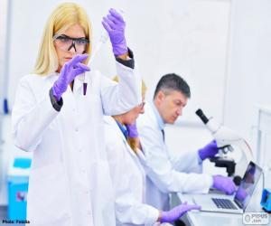 Pharmazeutischen Labor puzzle