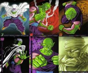 Piccolo Piccolo Monster Daimao Sohn, geboren, um Rache an Son-Goku zu nehmen. Es kommt von dem Planeten Namek. Es ist der erste Lehrer der Son Gohan. puzzle