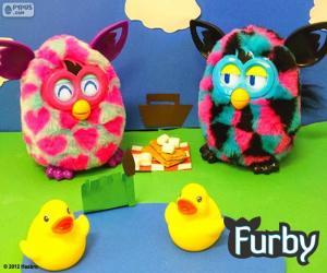 Picknick Furby puzzle
