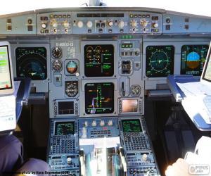 Pilotenkanzel cockpit puzzle