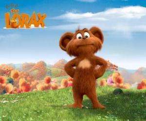 Pip, Pipsqueak ist ein Tier Bar-Ba-Loot, der gerne das Lorax imitieren puzzle