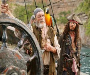 Piraten an der spitze puzzle