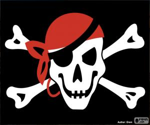 Piratenflagge Jolly Roger puzzle