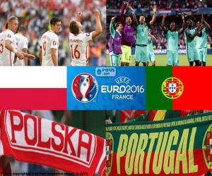 PL-PT, Viertelfinale Euro 2016 puzzle