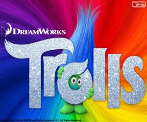 Plakat der Film Trolle puzzle