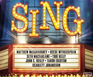 Plakat von Sing puzzle