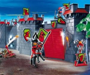 Playmobil Burg puzzle