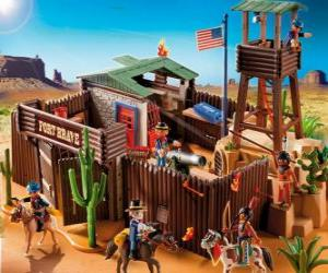 Playmobil Fort puzzle