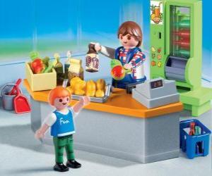 Playmobil-Geschäft puzzle