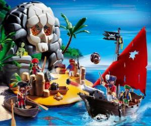 Playmobil Piraten Szene puzzle