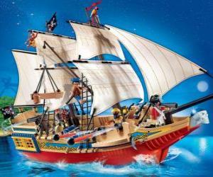 Playmobil Piratenschiff puzzle