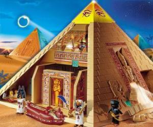 Playmobil Pyramide Ägypten puzzle