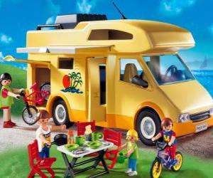 Playmobil Wohnmobil puzzle