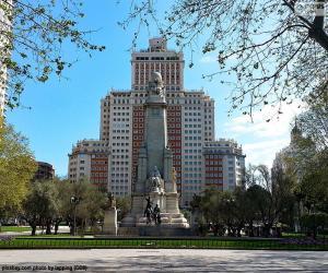 Plaza de España, Madrid puzzle