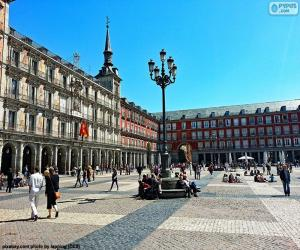 Plaza Mayor, Madrid puzzle
