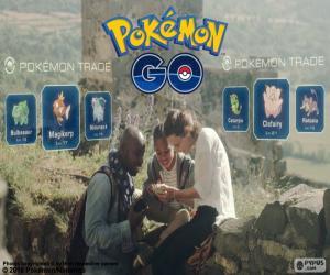 Pokémon GO Handel puzzle
