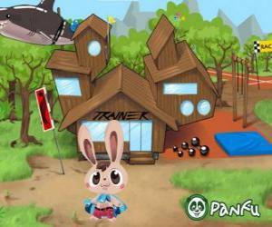Pokopet Bugsy, ein Kaninchen, eine Art Haustier von Panfu puzzle