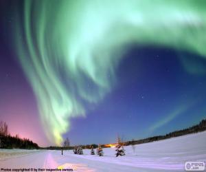 Polarlicht puzzle