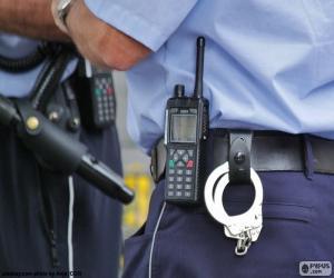 Polizeiausrüstung puzzle